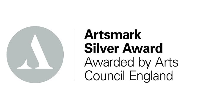 We have been awarded the Artsmark Silver Award