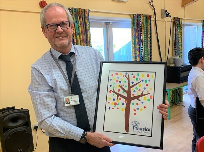 Diverse Academies staff bid fond farewell to outgoing CEO