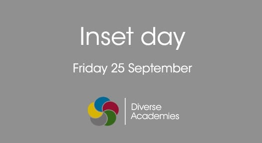 Inset Day – 25 September